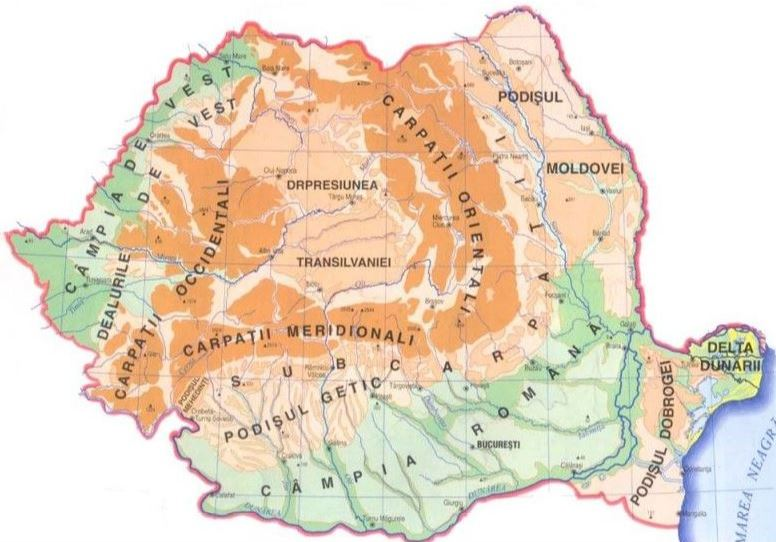 Structura etnica a Romaniei